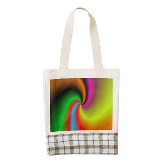 modelo agradable fresco colorido moderno bolsa tote zazzle HEART
