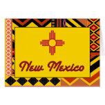 Modelo al sudoeste New México Santa Fe Tarjeta