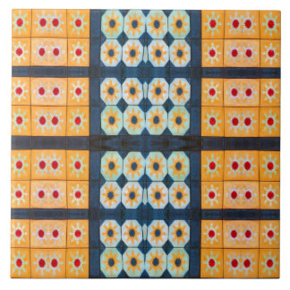 modelo amarillo bonito de la teja