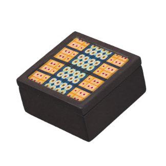 modelo amarillo bonito de la teja cajas de regalo de calidad