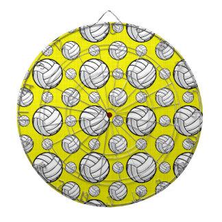Modelo amarillo brillante del voleibol