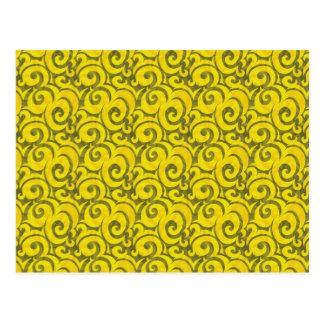 modelo amarillo caprichoso postales