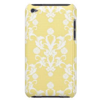 Modelo amarillo claro del estilo del damasco del Case-Mate iPod touch cobertura