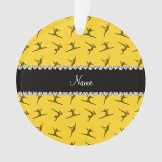 Modelo amarillo conocido personalizado de la gimna
