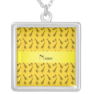 Modelo amarillo conocido personalizado de la guita colgantes personalizados