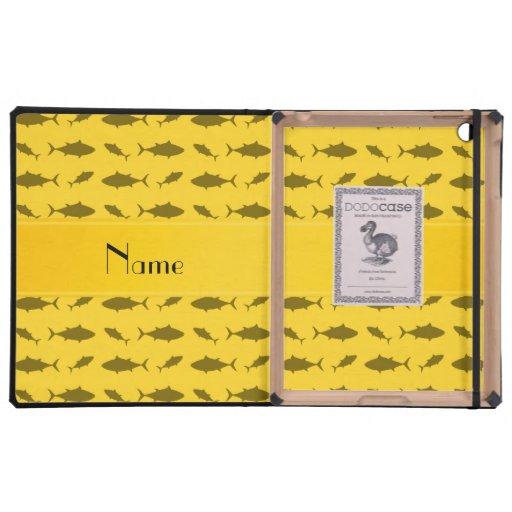 Modelo amarillo conocido personalizado del atún de