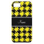Modelo amarillo conocido personalizado del iPhone 5 Case-Mate cárcasas
