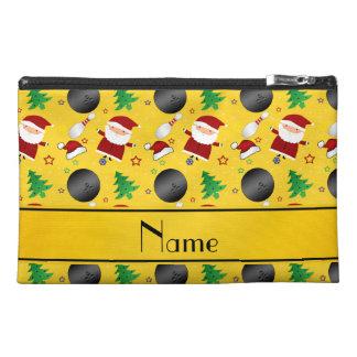 Modelo amarillo conocido personalizado del navidad