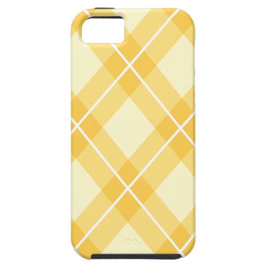 Modelo amarillo de Argyle Funda Para iPhone SE/5/5s