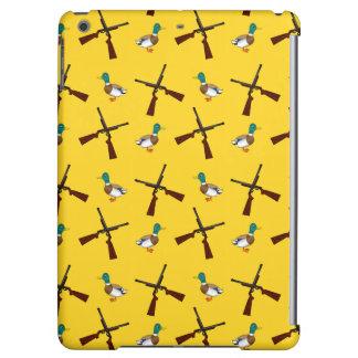 Modelo amarillo de la caza del pato