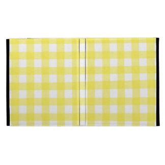 Modelo amarillo de la comida campestre