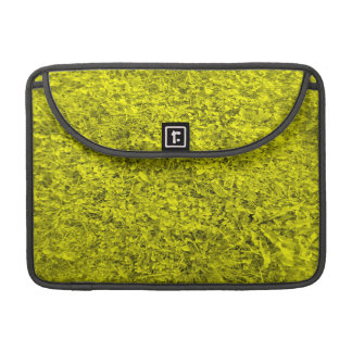 Modelo amarillo de la hierba funda macbook pro