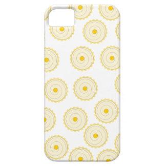 Modelo amarillo de la magdalena iPhone 5 carcasa