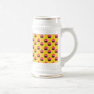 Modelo amarillo de la magdalena taza