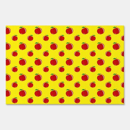 Modelo amarillo de la manzana