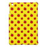 Modelo amarillo de la manzana iPad mini protectores