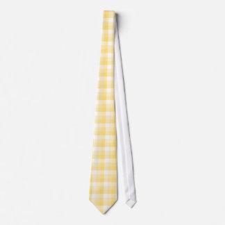 Modelo amarillo del control de la guinga corbata