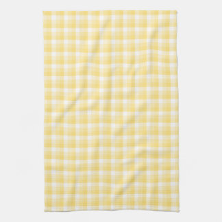 Modelo amarillo del control de la guinga toalla de mano