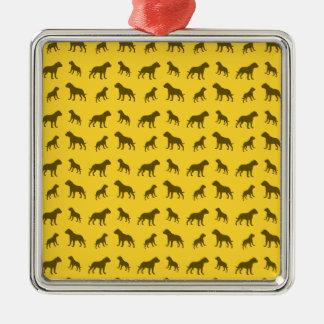 Modelo amarillo del dogo ornatos