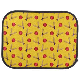 modelo amarillo del grillo alfombrilla de coche