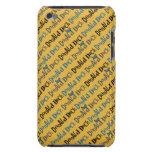 Modelo amarillo del pato Donald iPod Touch Case-Mate Funda