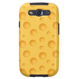 Modelo amarillo del queso galaxy s3 coberturas