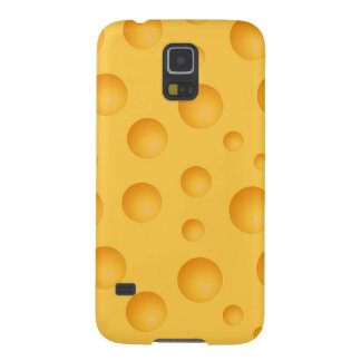 Modelo amarillo del queso carcasa para galaxy s5