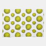 Modelo amarillo del softball/del béisbol toalla