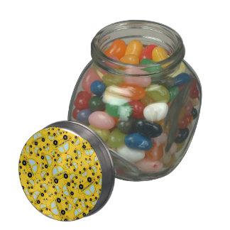 Modelo amarillo del taxi jarras de cristal jelly bely