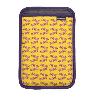 Modelo amarillo del tocino fundas iPad mini