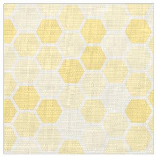 Modelo amarillo inconsútil del peine de la miel telas