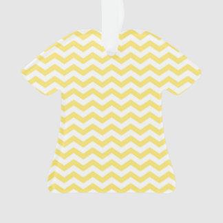 Modelo amarillo limón y blanco de Chevron