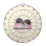 Modelo amarillo rosado del galón de los pájaros de tablero dardos