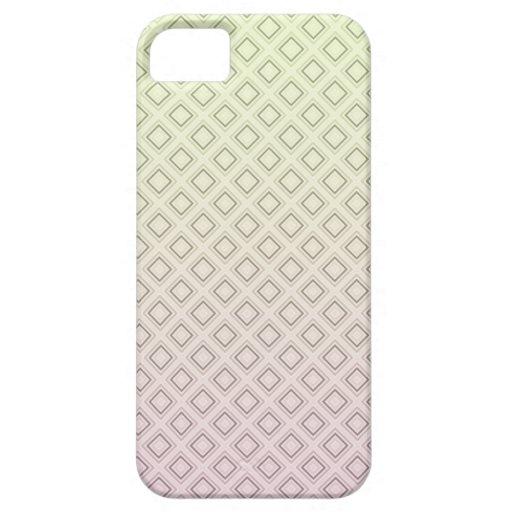 Modelo amarillo rosado iPhone 5 Case-Mate cárcasas