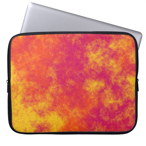 Modelo amarillo y anaranjado rosado enrrollado de  fundas portátiles