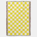 Modelo amarillo y blanco del tablero manta