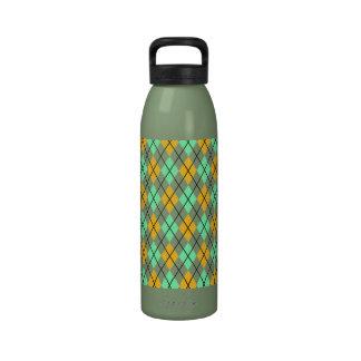 Modelo amarillo y verde de Argyle Botallas De Agua