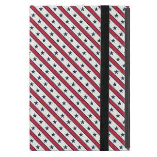 Modelo americano rayado elegante del Día del iPad Mini Cobertura