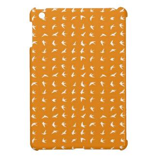 Modelo anaranjado 1 del pájaro iPad mini protector