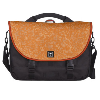 Modelo anaranjado abigarrado suavidad bolsas para portátil