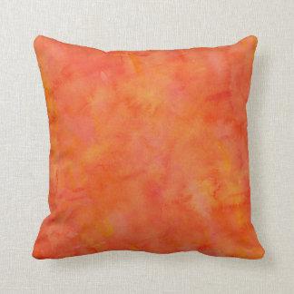 Modelo anaranjado brillante de la textura de la cojines