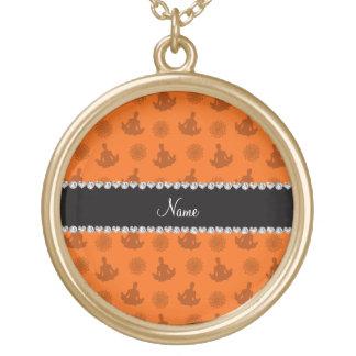 Modelo anaranjado conocido personalizado de la yog joyería
