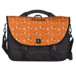 Modelo anaranjado conocido personalizado del cumpl bolsas para portatil