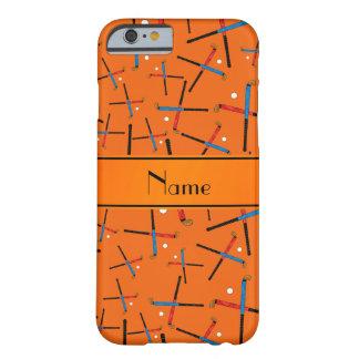 Modelo anaranjado conocido personalizado del funda de iPhone 6 barely there