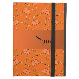 Modelo anaranjado conocido personalizado del hocke