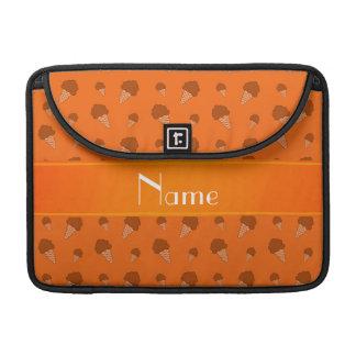 Modelo anaranjado conocido personalizado del fundas macbook pro