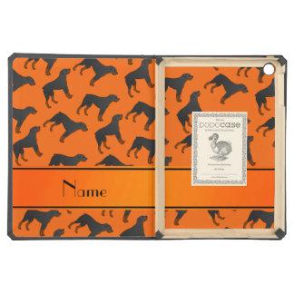 Modelo anaranjado conocido personalizado del perro