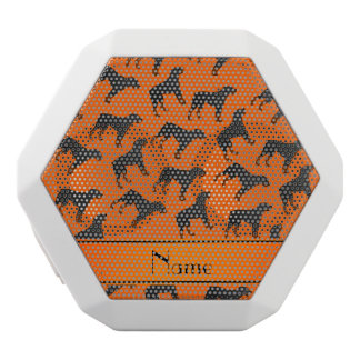 Modelo anaranjado conocido personalizado del perro altavoces bluetooth blancos boombot REX