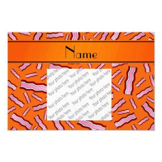 Modelo anaranjado conocido personalizado del tocin