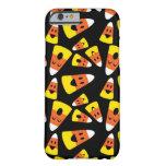 Modelo anaranjado de Halloween de las pastillas de Funda Para iPhone 6 Barely There
